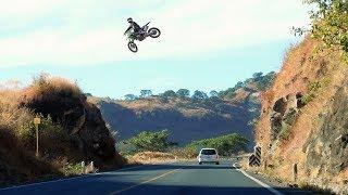 INSANE MX HIGHWAY JUMPS 😲 #SEND IT