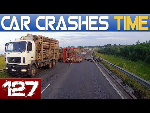 watch Car Crashes & Road Rage Compilation - July 2016 - Episode #127 HD
