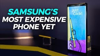 Samsung's Most Expensive Phone Yet