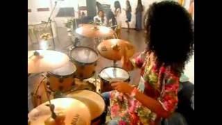 Solo de Bateria - Drummer Girl