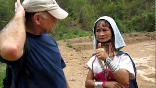 Matt and Mom in Mae Hong Son Thailand 2010