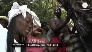 Traditional voodoo ceremony in Haiti - no comment