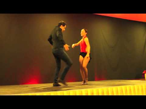 Joao and Mafalda at Sensual Dance Madrid 2012