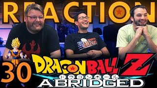 TFS DragonBall Z Abridged REACTION!! Episode 30 2/3