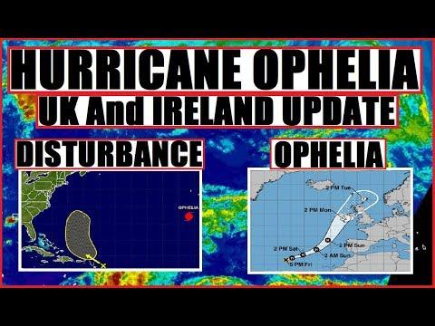 Hurricane OPHELIA! United Kingdom & Ireland UPDATE What to expect!