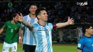 أهداف مبارة الأرجنتين و بوليفيا  2 - 0  تصفيات كأس العالم أمريكا الجنوبية 30-3-2016