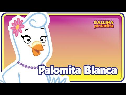 Palomita Blanca Gallina Pintadita 1 OFICIAL Español