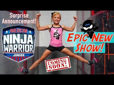 EPIC New Show American Ninja Warrior JR Ninja Kidz TV