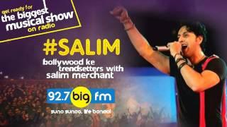 #Salim  Bollywood ke trendsetters   Show 01   15th May