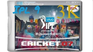 Download How To Download VIVO IPL 9 Patch For EA Cricket 07 Download For Free 3Gp Mp4