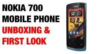 Nokia 700 Mobile Phone Unboxing & First Look