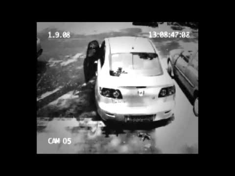 Take heed Caught On Security Camera in Parking Lot