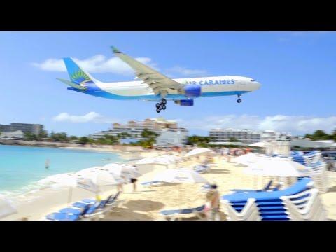 CRAZY AIRPLANE BEACH!