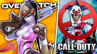 What happens when COD players play OVERWATCH...?