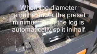 Sami Autochopper Automatic log splitter of the next generation.wmv