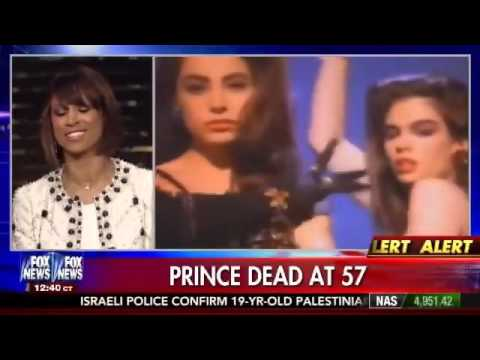 Stacy Dash eulogizes Prince on Fox News