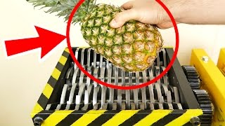 SHREDDING Pineapple and other Fruits