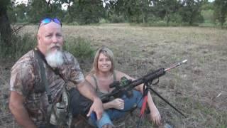 Lady Hunter Kills A Hog And A Monster Rattlesnake