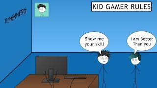 When a Kid is Better Than You in Gaming