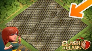 Clash Of Clans - LOOK WHAT I HAVE DONE!! - FINALLY ALL LEVEL 10 WALLS!