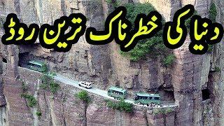 Dunya Ki Khatarnak Tareen Roads | Some Of The Most Dangerous Roads In the World | TUT