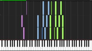 Toccata and Fugue in D minor - Johann Sebastian Bach [Organ Tutorial] (Synthesia)