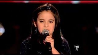 """Rosa canta """"Como la flor"""" en """"La Voz Kids"""""""