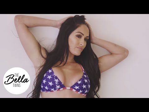 Xxx Mp4 Nikki Bella Slips Into A Patriotic Bikini For Her Fourth Of July Photo Shoot 3gp Sex