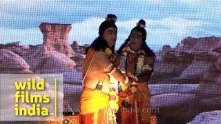 Ram gets sad as Hanuman did not return from Lanka