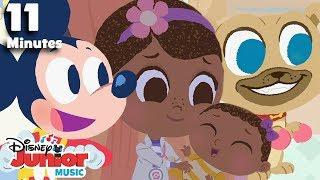 Nursery Rhymes Compilation! | 🎼  Disney Junior Music Nursery Rhymes | Disney Junior