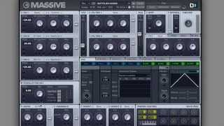 Dubstep Electro Buzz Synth Massive Tutorial