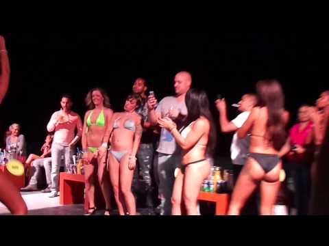 Spring Break 2016 Bikini Contest Cancun at Mandala Beach Club