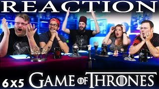 Game of Thrones 6x5 REACTION!!