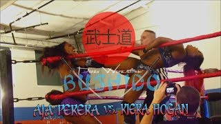 Kiera Hogan vs. Aja Perera (Pro Wrestling Bushido; 1-6-2018)