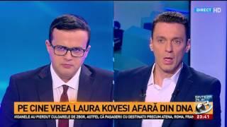 Pasa Sinteza Zilei-În Gura Presei: Mircea Badea: Kovesi va ajunge la închisoare