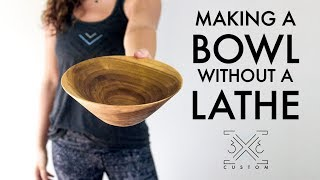 Bowl Without a Lathe Challenge // Router // Woodworking