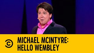 Michael McIntyre's Athletic Prowess On Nintendo Wii: Hello Wembley