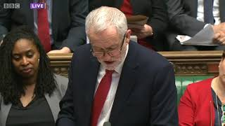 RUSSIA: Jeremy Corbyn's speech on the alleged Salisbury chemical weapons incident