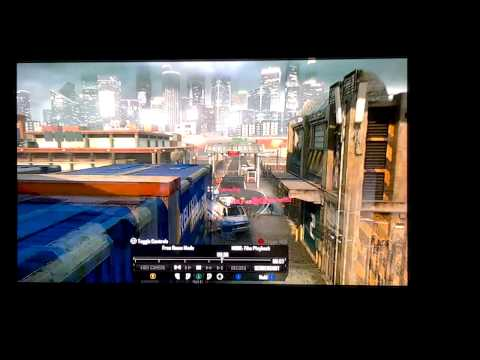 Black Ops II - Combat Axe Kill Across the Map on Cargo