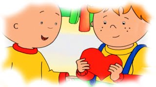 Cartoon Caillou | Caillou gets ready for Valentines Day | Cartoons for Children
