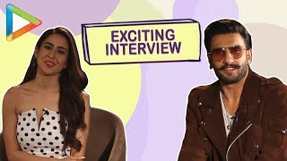 SENSATIONAL: Ranveer Singh | Sara Ali Khan | Full interview on BLOCKBUSTER Simmba, Ajay Devgn, Rohit
