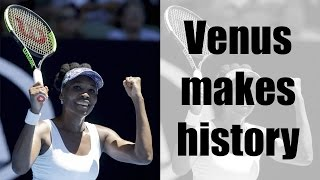 Venus Williams becomes oldest player to enter semi-final in Australian Open | Oneindia News