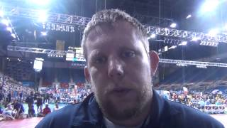 King Coach Jason Moorman at Junior Nationals in Fargo