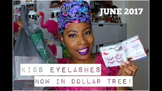 DOLLAR TREE | The KISS EYELASHES BLOOMING Collection IS BACK!! ChaChing on the SAVINGS!!