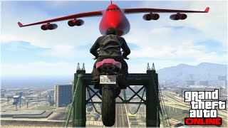 CRAZY GTA 5 STUNTS & FAILS (GTA 5 Funny Moments)