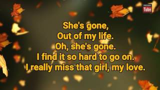 Steelheart-She's Gone~karaoke