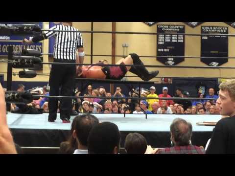Indy Wrestling fail  - the table won't break! 9/19/2015