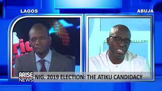 Atiku Spokesman: Segun Sowunmi explains why Nigerians may need Atiku at this time