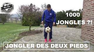 COMMENT JONGLER DES DEUX PIEDS + 1000 JONGLES ?!