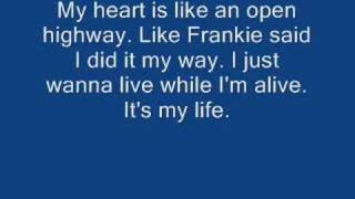 Bon Jovi - It's my life w/ lyrics